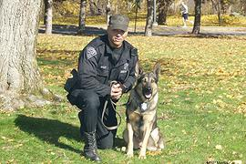 In Remembrance of Retired K-9 Ronny
