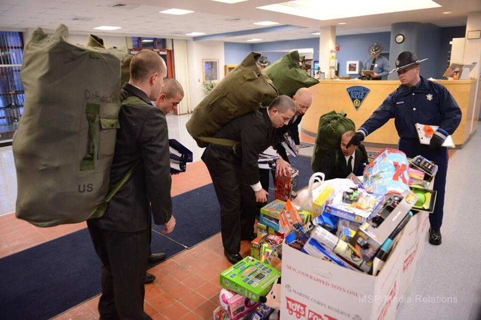 State Police Step It Up for Tots for Tots – Boston News