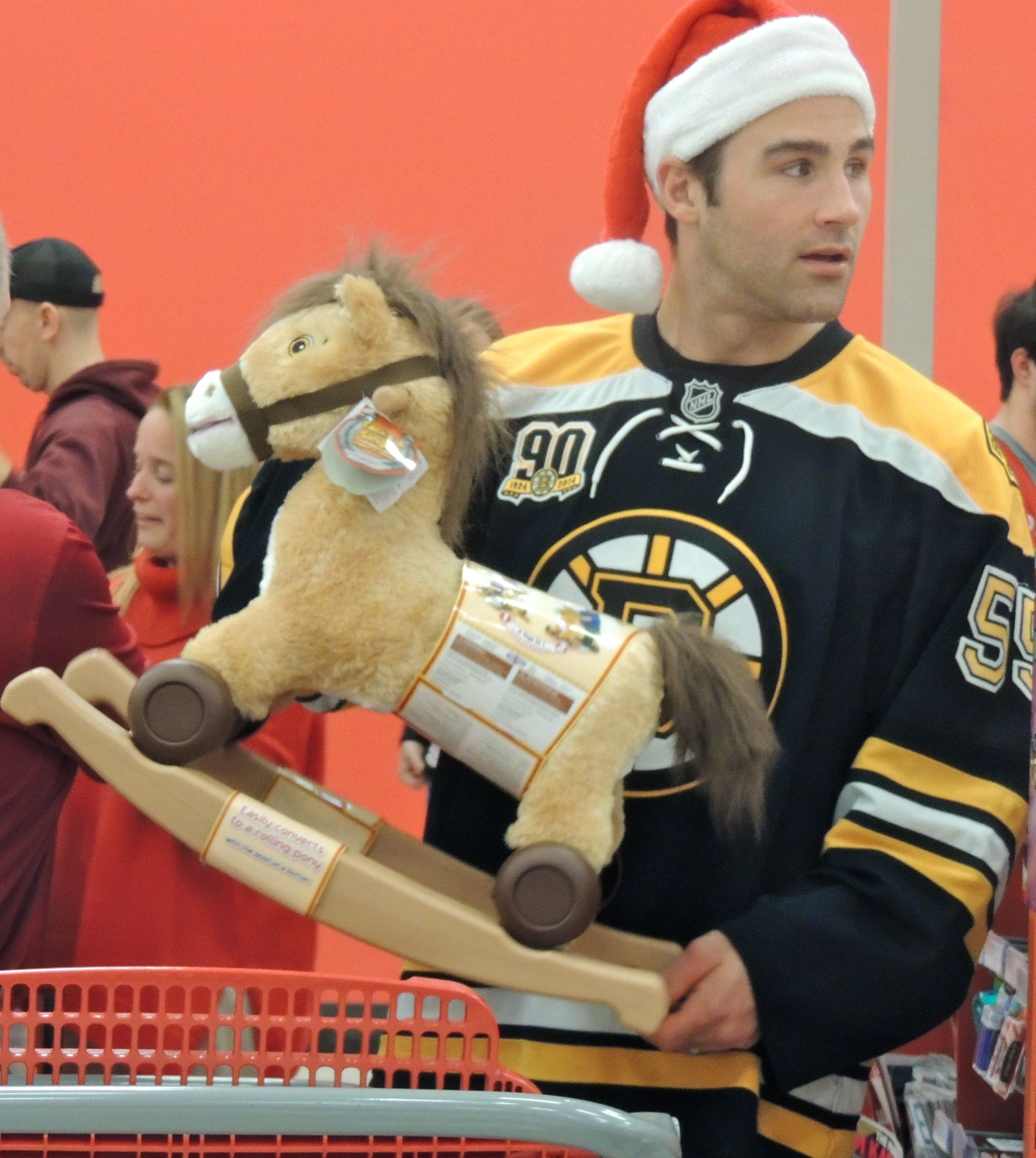 BOSTON BRUINS ANNUAL HOLIDAY TOY SHOPPING