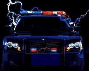 Modern Cop Logo Cruiser