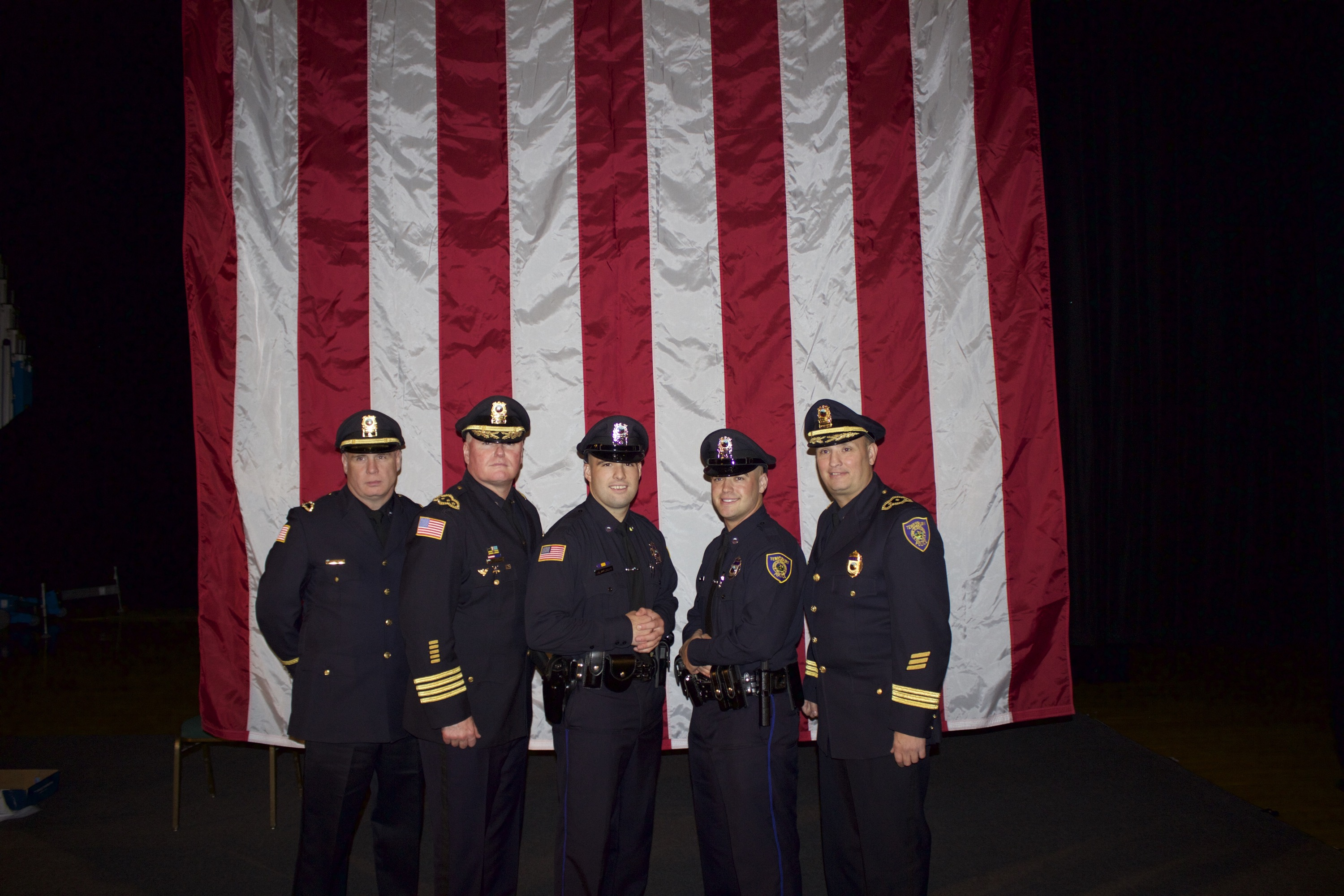 Tewksbury Recruits Graduate from Lowell Police Academy