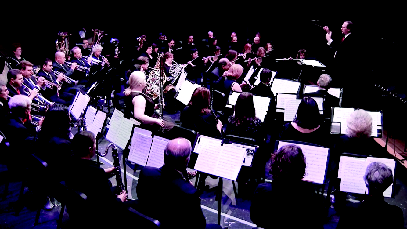 """Middlesex Concert Band Presents """"Songs of the Silver Screen"""