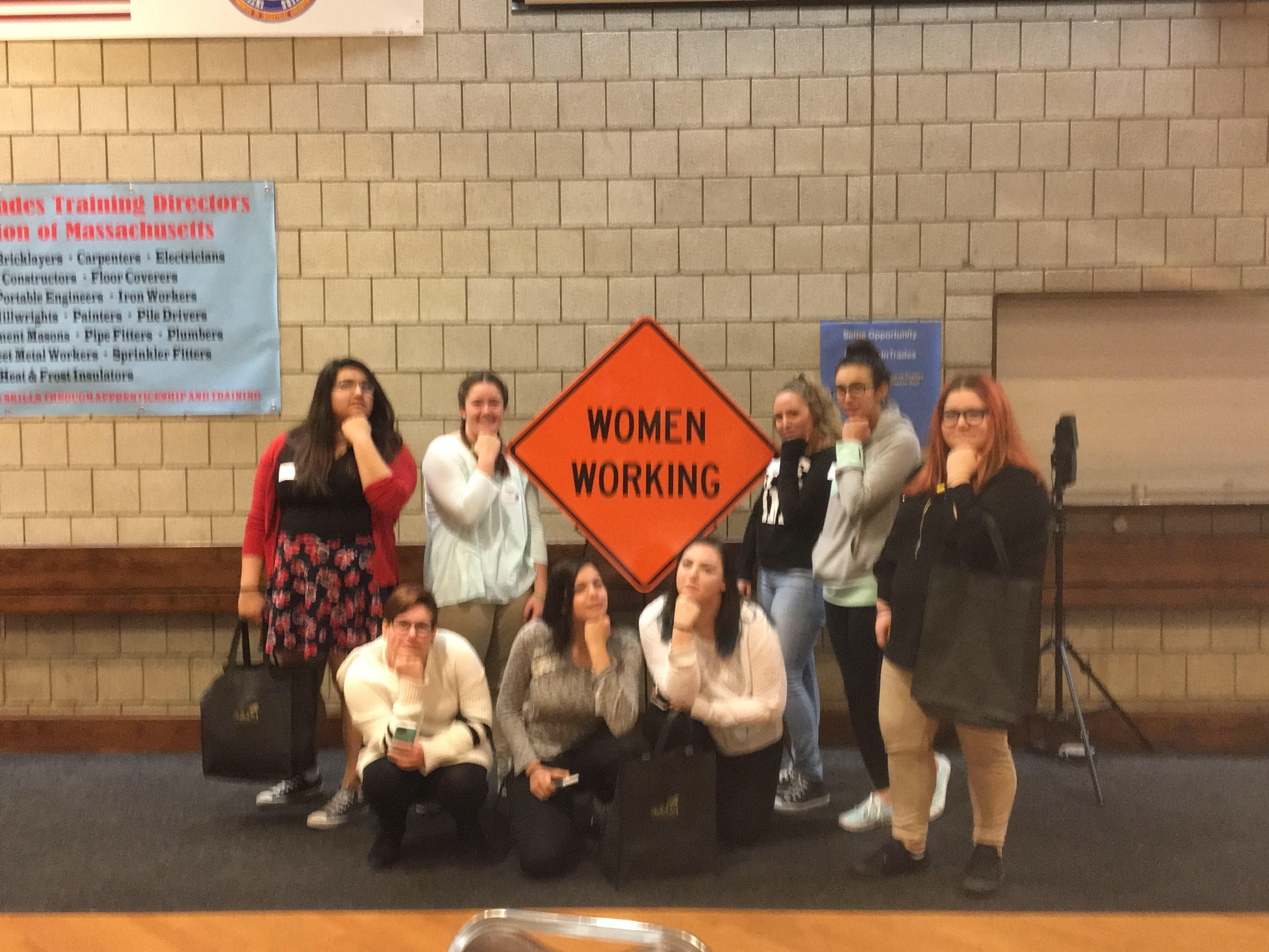 medford vocational technical high school s female students attend recently female students from the medford vocational technical high school mvths attend a first in the state girls in trades conference career fair