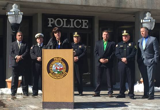 Lowell Officials Call Attention to Surge in Opioid Overdoses